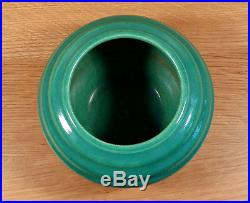 Vintage Garden City Handthrown Ring Ringed Rose Bowl Vase California Art Pottery