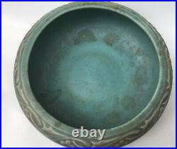 Vintage Green Rookwood Bowl 1919