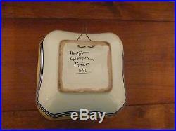 Vintage Henriot Quimper Octagonal Serving Bowl