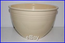 Vintage Homer Laughlin Fiesta Ware Ivory #7 Mixing/nesting Bowl