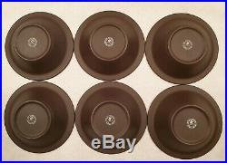 Vintage Hornsea Contrast Dining Set for Six Plates Bowls Salt Pepper Jugs 1970s