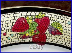 Vintage ITALY Large 19 Serving Platter Dish Pasta Bowl ARM Ceramica Hand Decor