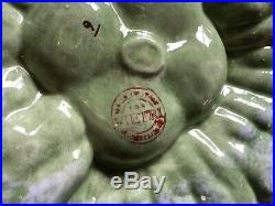 Vintage Italian VIETRI Pottery CERAMIC MAJOLICA PUMPKIN Dish Bowl 12