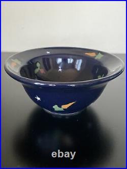 Vintage Karen Howell Oatmeal/Dessert Bowl Legend of the Rabbit Moon