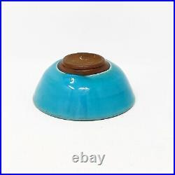 Vintage Kjeld & Erica Deichmann Studio Art Pottery Bowl New Brunswick Canada