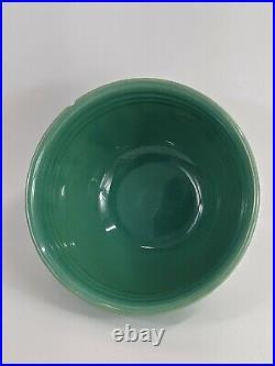Vintage MCM Bauer Pottery Set Of 6 Nesting Mixing Bowls Jade Green Ringware Hive