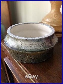Vintage Marcello Fantoni Raymor Italian Ceramic Bowl Vase Italy