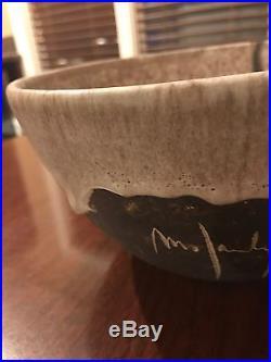 Vintage McCarty Pottery Bowl Merigold mark