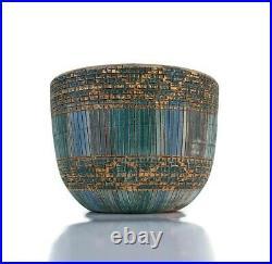 Vintage Mid Century Modern Aldo Londi Bitossi Seta Planter Bowl