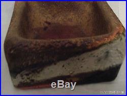 Vintage Mid Century Modern Raymor Fantoni Ceramic Square Bowl