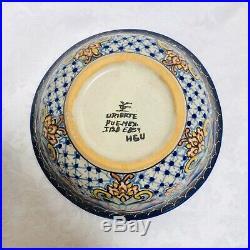 Vintage Mid Century Uriarte Talavera Mexican Pottery Bowl