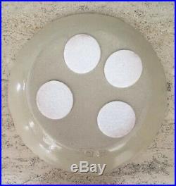 Vintage Miranda Thomas Pottery Platter Incised Decoration of Bunny Rabbit
