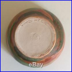 Vintage Moise Gross Organic Design Hand Thrown Studio Pottery Ceramic Bowl