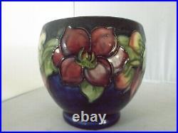 Vintage Moorcroft Floral Small Bowl
