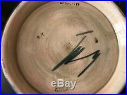 Vintage Moorcroft Hibiscus Pattern 27cm Bowl
