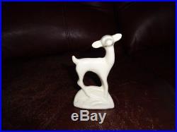 Vintage Original McCoy Flower Bowl Deer Ornament. Cute Look