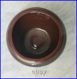 Vintage PILLIN Studio Pottery Vase Bowl 2 Woman, bird & Rooster