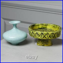 Vintage Pair Rorstrand Vase & Sunflower Bowl Gunnar Nylund Signed MCM 2 pcs