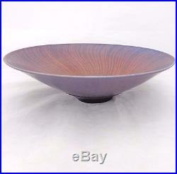 Vintage Peter Lane Art Pottery Porcelain Bowl Hand Thrown Studio Signed Base