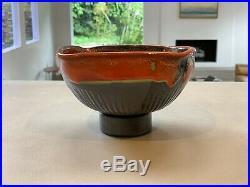 Vintage Peter Shire Exp Echo Park Studio Art Pottery Bowl Memphis Group