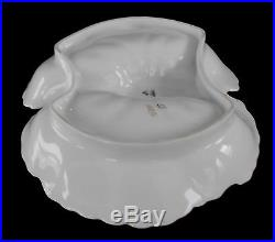 Vintage Porcelain Lobster Bowl Joseph Schachtel Germany Purple White Gold