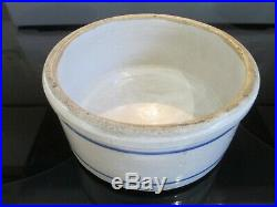 Vintage RED WING Pottery Stoneware Stacking Refrigerator Jar / Bowl MINT