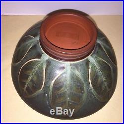 Vintage RUPERT DEESE California Studio Art Pottery Bowl Mid Century Modern