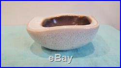 Vintage RUSSEL WRIGHT BAUER Art Pottery Bowl organic square no damage