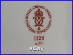 Vintage Rare 1980's Royal Crown Derby Old Imari 1128 Oval Vegetable Bowl 10'