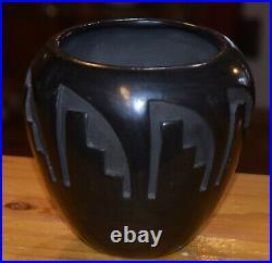 Vintage Rare Sharon Naranjo Garcia Santa Clara Pottery Bowl/free Shipping