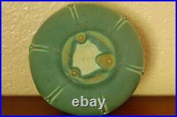 Vintage Rookwood Pottery Arts & Crafts Cabinet Bowl XXIX 1929 #2098 Blue-Green