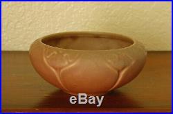 Vintage Rookwood Pottery Arts Crafts Cabinet Bowl XXVII 1927 #2098 Matte Mauve