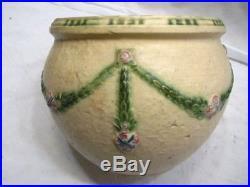 Vintage Roseville Art Pottery La Rose Planter Vase Centerpiece Bowl