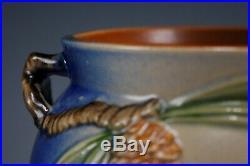 Vintage Roseville Pottery Blue Pinecone Jardiniere Bowl 632-5