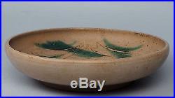Vintage Rudy Staffel Modernist Studio Art Pottery or Stoneware Bowl Signed PT