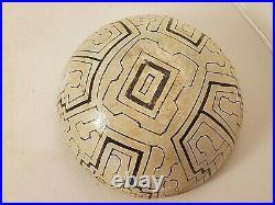 Vintage Shipibo Pottery Bowl