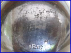Vintage Signed Santa Clara Pottery Bowl Billy Cain