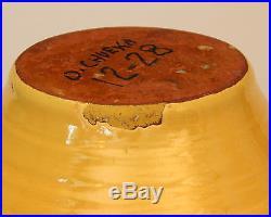Vintage Southern Pottery Ring Rib Ware Bowl North Carolina Bybee Waco Kentucky