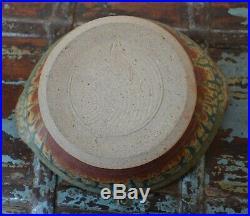 Vintage Studio Pottery Casserole Bowl by Ellen Shankin, VA
