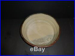 Vintage Studio Pottery Stoneware bowl Signed Incised HH mark Early Henry Hammond