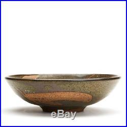 Vintage Studio Pottery Wax Resist Bowl Alan Ward 20th C
