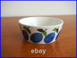 Vintage Sugar Bowl Stig Lindberg PRUNUS Gustavsberg MCM Excellent 10 cm
