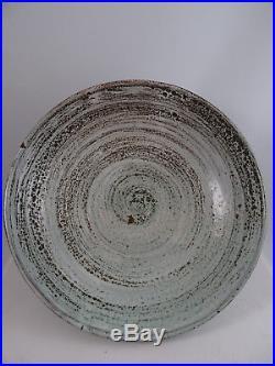 Vintage Tessa Kidick Pottery Large Bowl Canadian Art Pottery 10