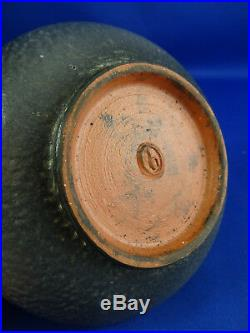 Vintage Theo & Susan Harlander Pottery Bowl Canadian Art Pottery