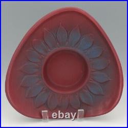 Vintage Van Briggle Art Pottery Persian Rose Mid Century Sunflower Arranger Bowl