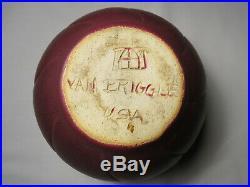 Vintage Van Briggle Pottery Mulberry Bowl Vase 5 3/4 x 3 3/4 Tall
