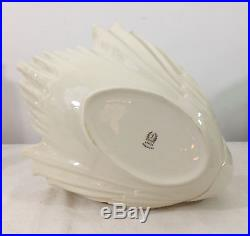 Vintage Very Large Lenox China SWAN Candy Serving Dish Centerpiece Bowl