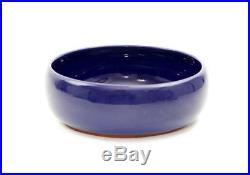 Vintage Wellfleet Pottery Cobalt Blue 8 Bowl Rare