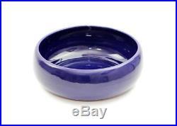 Vintage Wellfleet Pottery Cobalt Blue Large 10 Bowl Rare #1