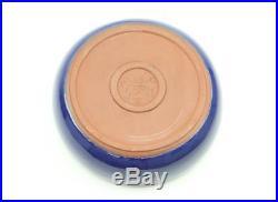Vintage Wellfleet Pottery Cobalt Blue Large 10 Bowl Rare #2